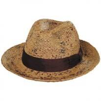 The Rye Raffia Straw Fedora Hat