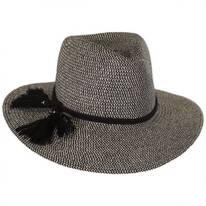 Taylor Toyo Straw Fedora Hat