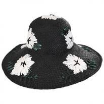 Punta Cana Raffia Straw Sun Hat