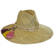 Margarita Straw Wide Brim Fedora Hat