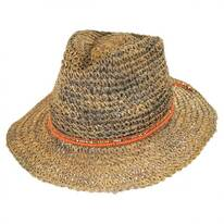 Trancoso Seagrass Straw Fedora Hat