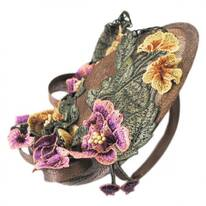 Floral Dish Fascinator Headband