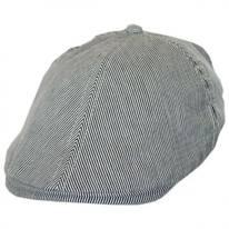 Kids' Pinstripe Cotton Duckbill Cap