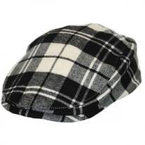 Kids' Plaid Cotton Ivy Cap