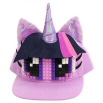 Twilight Sparkle Bricky Blocks Snapback Baseball Cap