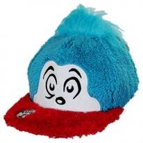 Thing 1 Fuzzy Baseball Cap