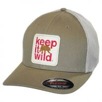 Keep It Wild Flexfit Mesh Fitted Baseball Cap