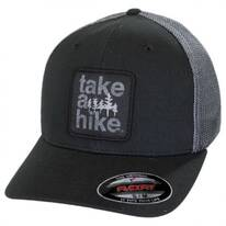 Take a Hike Flexfit Mesh Fitted Baseball Cap