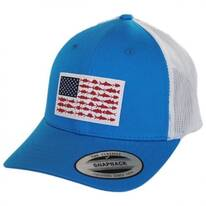 Kids' PFG Fish Flag Snapback Baseball Cap