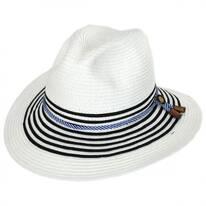 Rope Band Toyo Straw Fedora Hat