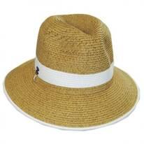 Nantucket Toyo Straw Fedora Hat