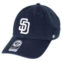 San Diego Padres MLB Home Clean Up Strapback Baseball Cap Dad Hat