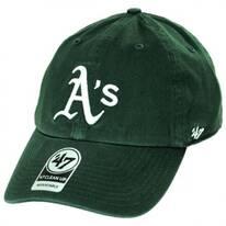 Oakland Athletics MLB Clean Up Strapback Baseball Cap Dad Hat II