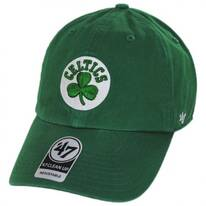 Boston Celtics NBA Clean Up Strapback Baseball Cap Dad Hat II