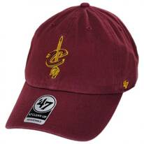 Cleveland Cavaliers NBA Clean Up Strapback Baseball Cap Dad Hat II