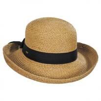 Raffia Straw Braid Breton Hat