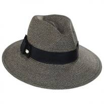 Ellery Toyo Straw Fedora Hat