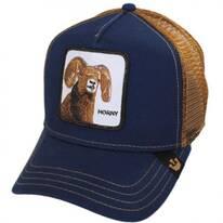 Big Horn Mesh Trucker Snapback Baseball Cap