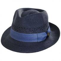 Boogie Vent Toyo Straw Fedora Hat