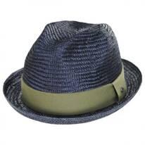 Essential Sisal Straw Trilby Fedora Hat