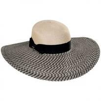 Resort Straw Swinger Wide Brim Hat