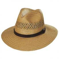 Case Vent Toyo Straw Safari Fedora Hat