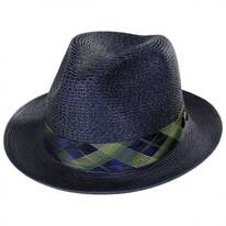 Cable Line Milan Straw Fedora Hat