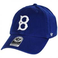 Brooklyn Dodgers MLB Cooperstown Clean Up Strapback Baseball Cap Dad Hat