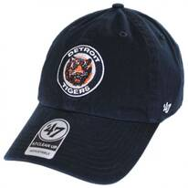 Detroit Tigers MLB Cooperstown Clean Up Strapback Baseball Cap Dad Hat