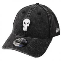 Marvel Punisher Rugged 9Twenty Strapback Baseball Cap Dad Hat