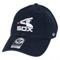 Chicago White Sox MLB Cooperstown Clean Up Strapback Baseball Cap Dad Hat