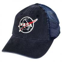 NASA Raglan Bones Trucker Strapback Baseball Cap Dad Hat