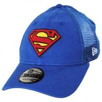 DC Comics Superman 9Forty Trucker Snapback Baseball Cap