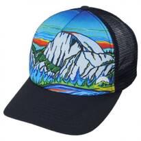 Half Dome Trucker Snapback Baseball Cap