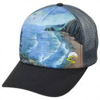 Coastal Spruce Trucker Snapback Baseball Cap