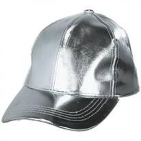 Metallic Adjustable Baseball Cap