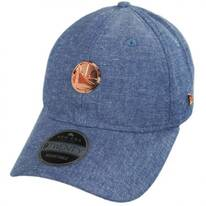 Golden State Warriors 9Twenty Badged Strapback Baseball Cap Dad Hat