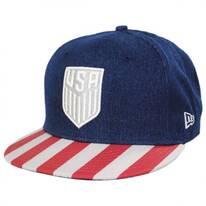 US Soccer Fully Flagged 9Fifty Snapback Baseball Cap