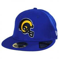Los Angeles Rams NFL Retro Fit 59Fifty Fitted Baseball Cap