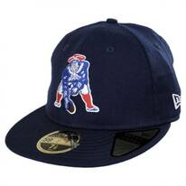 New England Patriots NFL Retro Fit 59Fifty Fitted Baseball Cap