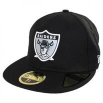 Oakland Raiders NFL Retro Fit 59Fifty Fitted Baseball Cap