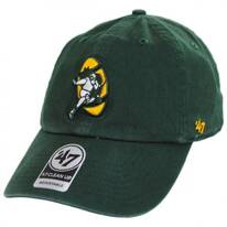 Green Bay Packers NFL Clean Up Legacy Strapback Baseball Cap Dad Hat