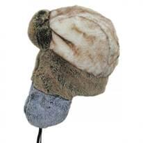 Color Block Trapper Hat