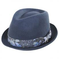 Accord Wool Teardrop Stingy Brim Fedora Hat