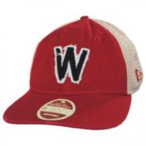 Washington Senators Strapback Trucker Baseball Cap