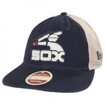 Chicago White Sox 1976-1981 Strapback Trucker Baseball Cap
