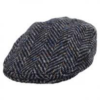 Magee 1866 Donegal Tweed Longford Wool Flat Cap
