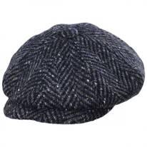 Magee 1866 Donegal Tweed Mayo Charcoal Wool Newsboy Cap