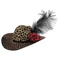 On the Prowl Wool Western Hat
