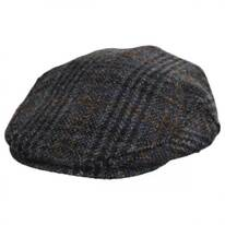 Flavio Harris Tweed Earflap Wool Ivy Cap